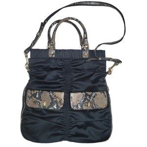 Alexis Hudson Snake Print shoulder bag